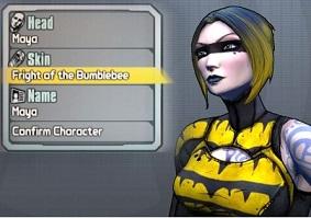 Borderlands 2 – Halloween Character Skin Shift Codes