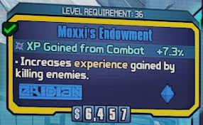Borderlands 2 - Moxxis Endowment