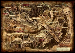 Dark Souls: World Map